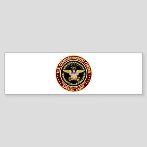 Counter Terrorist CTC Bumper Sticker