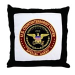Counter Terrorist CTC Throw Pillow