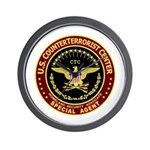 Counter Terrorist CTC Wall Clock
