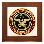 Counter Terrorist CTC Framed Tile