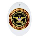 Counter Terrorist CTC Oval Ornament