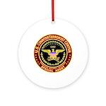 Counter Terrorist CTC Ornament (Round)