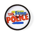 Sting Police Wall Clock