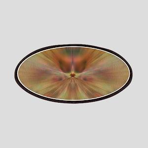 Brown Fractal Desgn Patch