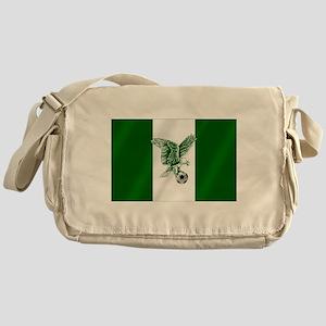 Nigerian Football Flag Messenger Bag