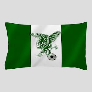 Nigerian Football Flag Pillow Case