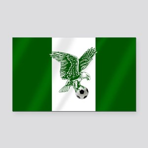 Nigerian Football Flag Rectangle Car Magnet