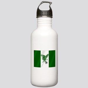 Nigerian Football Flag Stainless Water Bottle 1.0L