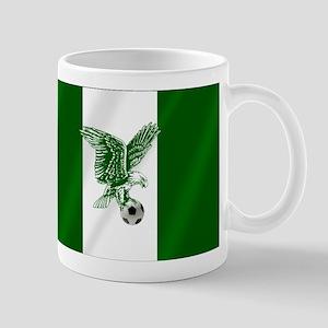 Nigerian Football Flag Mug