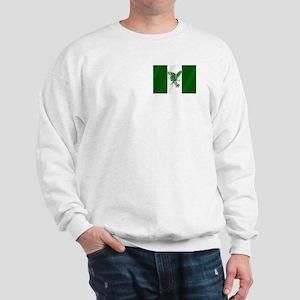Nigerian Football Flag Sweatshirt