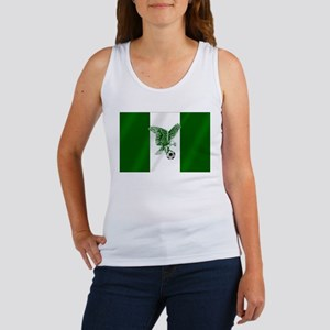 Nigerian Football Flag Women's Tank Top