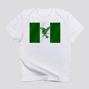 Nigerian Football Flag Infant T-Shirt
