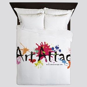 Art Attack Artist Queen Duvet