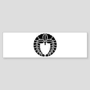 Hanging wisteria Sticker (Bumper)