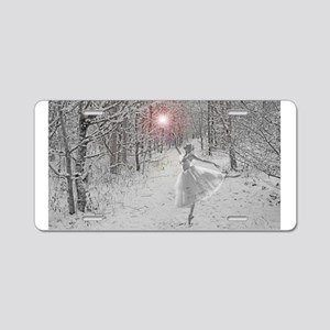 The Snow Queen Aluminum License Plate
