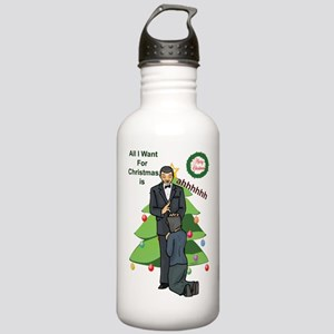 Christmas Wishes Stainless Water Bottle 1.0L