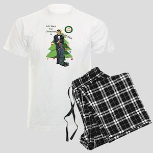 Christmas Wishes Men's Light Pajamas