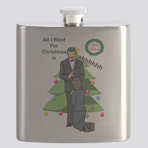 Christmas Wishes Flask