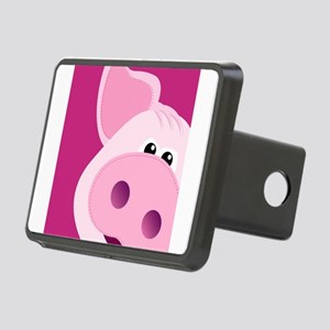 Happy Piggy Rectangular Hitch Cover