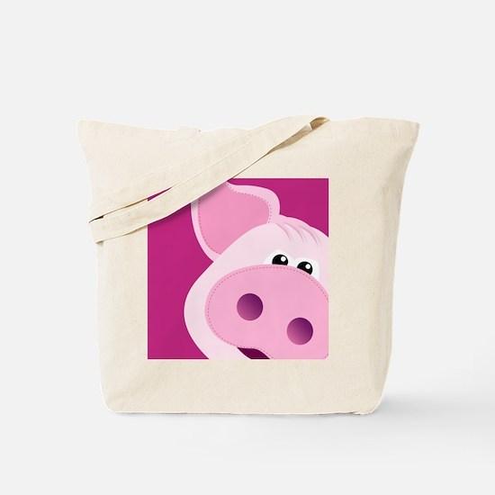 Happy Piggy Tote Bag