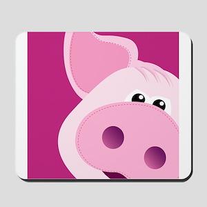 Happy Piggy Mousepad