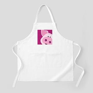Happy Piggy Apron