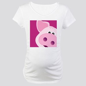 Happy Piggy Maternity T-Shirt