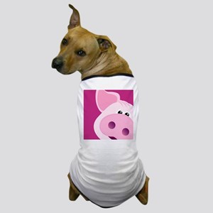 Happy Piggy Dog T-Shirt