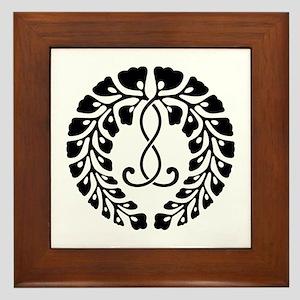 Kujo wisteria Framed Tile