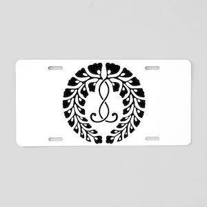 Kujo wisteria Aluminum License Plate