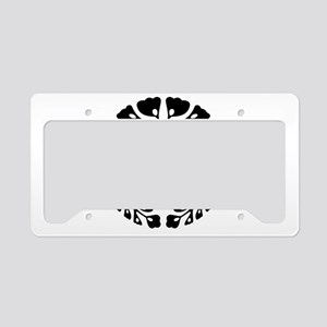 Kujo wisteria License Plate Holder