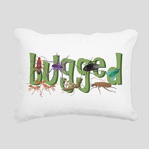 Bugged Rectangular Canvas Pillow