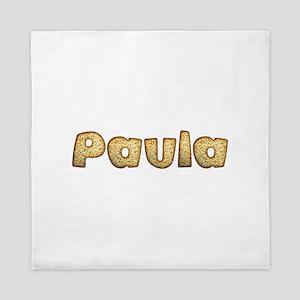 Paula Toasted Queen Duvet