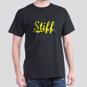 Stiff, Yellow Dark T-Shirt