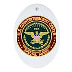 CTC - CounterTerrorist Oval Ornament