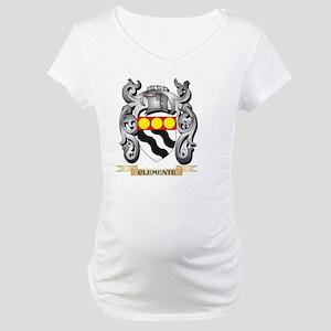 Clemente Family Crest - Clemente Maternity T-Shirt