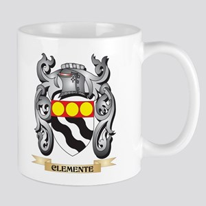 Clemente Family Crest - Clemente Coat of Arms Mugs