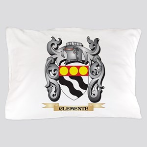 Clemente Family Crest - Clemente Coat Pillow Case