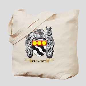 Clemente Family Crest - Clemente Coat of Tote Bag