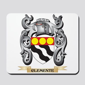 Clemente Family Crest - Clemente Coat of Mousepad