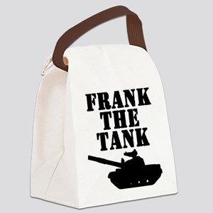 Frank The Tank Canvas Lunch Bag