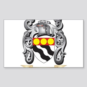 Clements Family Crest - Clements Coat of A Sticker