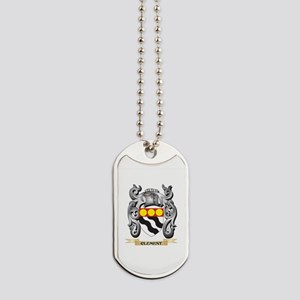 Clement Family Crest - Clement Coat of Ar Dog Tags