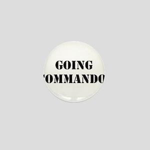 Going Commando Mini Button