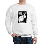 Rabbit Wood Block  Sweatshirt