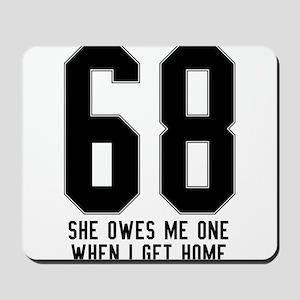 69 Mousepad