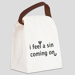 Sin2 Canvas Lunch Bag