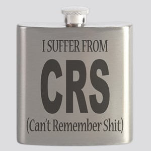 I Suffer From CRS Flask