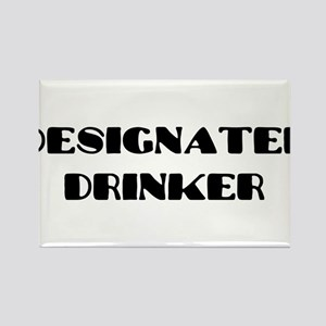 Drinker2 Rectangle Magnet
