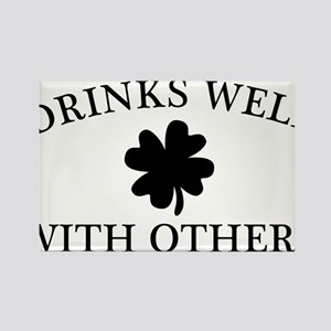DrinksWell2 Rectangle Magnet